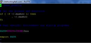 Unix Path Variable