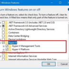 How to enable Hyper-V in Windows 10