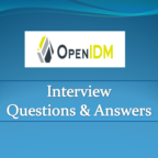 OpenIDM Interview Questions and Answers
