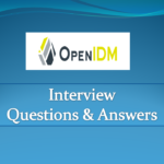 OpenIDM-Interview-Questions-And-Answers