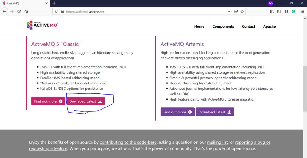 ActiveMQ Download Home