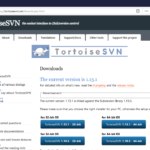 Tortoise SVN Download Home