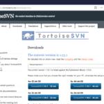 Tortoise SVN Download Home