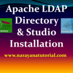 How to install Apache LDAP Directory and Studio?