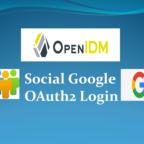OpenIDM Social Google OAuth2 Login