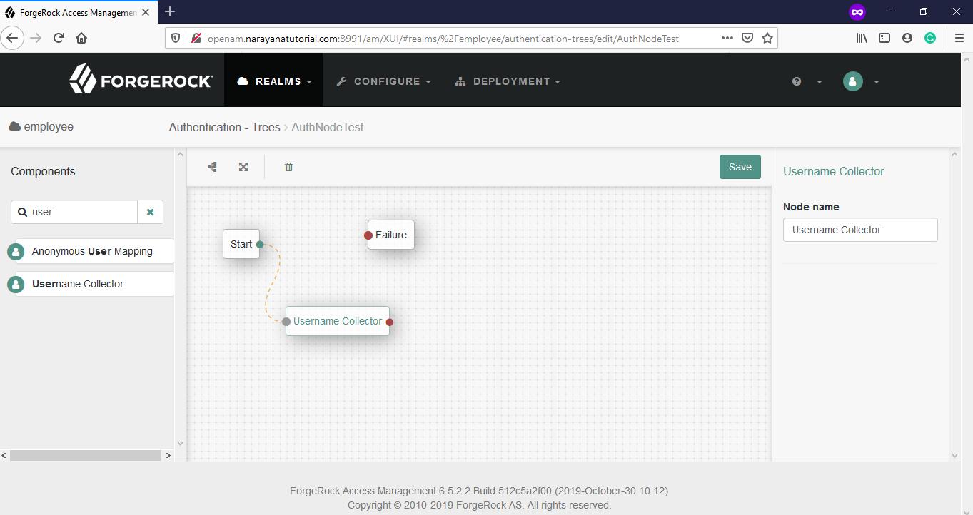 OpenAM-Username-Collector-Node